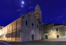 Templo católico Venecia Fotografía de archivo