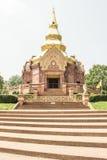 Templo Chedi Salawan salvaje conmemorativo Fotos de archivo