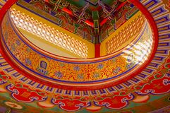Templo chinês 2 fotos de stock royalty free