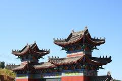 Templo chinês Fotografia de Stock