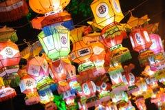 Templo chinês do ano 2011 novo justo em chengdu Imagem de Stock Royalty Free