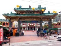 Templo chinês em Formosa Imagens de Stock
