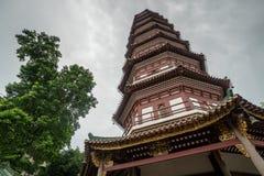 Templo chinês em Guangzhou imagem de stock