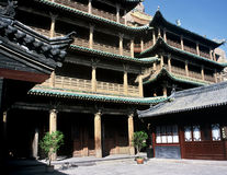 Templo, China imagens de stock royalty free