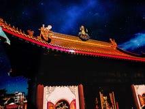 Templo chino foto de archivo