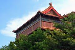 Templo chino Fotografía de archivo libre de regalías