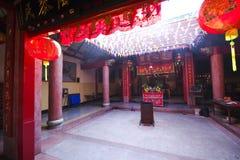 Templo chino de la paz Imagenes de archivo