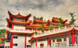 Templo chino de Thean Hou en Kuala Lumpur, Malasia Foto de archivo libre de regalías