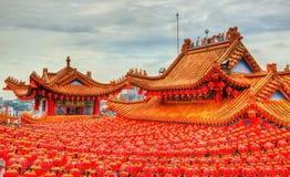 Templo chino de Thean Hou en Kuala Lumpur, Malasia Fotos de archivo libres de regalías