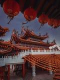 Templo chino de Thean Hou en Kuala Lumpur fotografía de archivo