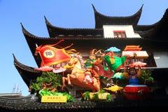 Templo chino del Año Nuevo justo Imagen de archivo libre de regalías