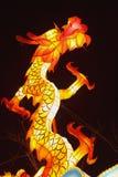 Templo chino del Año Nuevo justo en Panjin Fotografía de archivo libre de regalías