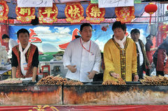 Templo chino del Año Nuevo justo en wuhan Imagenes de archivo