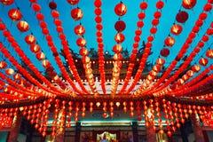 Templo chino en Kuala Lumpur Imágenes de archivo libres de regalías