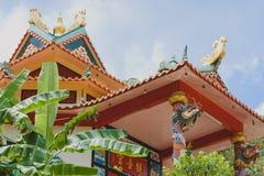 Templo chino en Tailandia Fotos de archivo