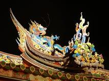 Templo chino en Taiwán fotografía de archivo