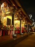 Templo chino en Taiwán fotografía de archivo libre de regalías