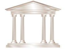 Templo clásico Fotos de archivo libres de regalías