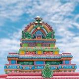 Templo coloreado fotografía de archivo