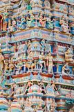 Templo colorido hindú imágenes de archivo libres de regalías
