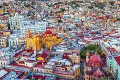Templo Companiia de la universidad nuestra señora Basilica Guanajuato Mexico imágenes de archivo libres de regalías