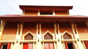 Templo con el cielo Imágenes de archivo libres de regalías