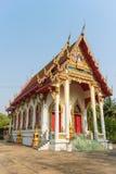 Templo con el fondo del árbol y del cielo Foto de archivo