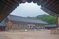 Templo coreano Fotos de Stock Royalty Free