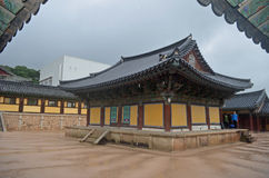 Templo coreano Imagens de Stock