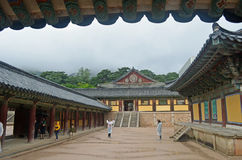 Templo coreano Fotos de Stock