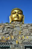 Templo Coreia de Wowoojongsa imagens de stock royalty free