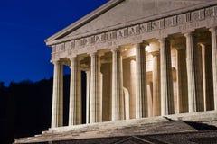 Templo cristiano de Antonio Canova Arquitectura religiosa romana y griega, construyendo como panteón y parthenon Iglesia en Itali foto de archivo
