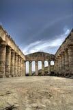 Templo dórico Imagen de archivo libre de regalías