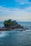 Templo da água de Bali - lote de Tanah fotografia de stock royalty free
