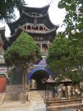 Templo da água santamente de Lotus Hill do chinês Fotografia de Stock