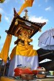 Templo da arquitetura do Balinese Imagens de Stock Royalty Free