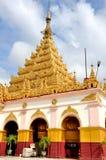 Templo da Buda de Mahamuni, Mandalay fotografia de stock