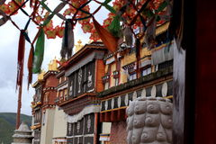Templo da Buda de Songzanlin fotografia de stock royalty free