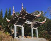 Templo da Buda do nirvana na montanha do Cu de Ta Fotos de Stock Royalty Free