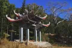 Templo da Buda do nirvana na montanha do Cu de Ta Imagem de Stock