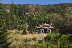 Templo da Buda do nirvana na montanha do Cu de Ta Imagens de Stock Royalty Free