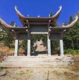 Templo da Buda do nirvana na montanha Vietname do Cu de Ta Fotografia de Stock