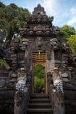 Templo da caverna do bastão de Pura Goa Lawah Foto de Stock