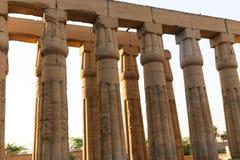 Templo da cidade de Habu - Egito foto de stock