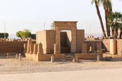 Templo da cidade de Habu - Egito fotografia de stock