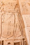 Templo da cidade de Habu em Luxor fotografia de stock