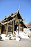 Templo da coluna da cidade em Chiang Mai, Tailândia Fotografia de Stock Royalty Free