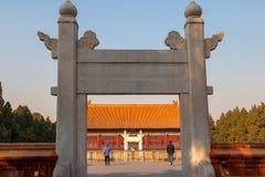 Templo da comunidade no Pequim Foto de Stock Royalty Free