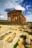 Templo da concórdia - Sicília Fotografia de Stock