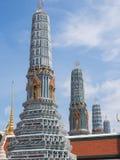 Templo da esmeralda, Banguecoque, Tailândia imagem de stock royalty free
